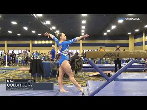 Colbi Flory, Texas Dreams - Beam - 2018 Brestyan's Las Vegas Invitational