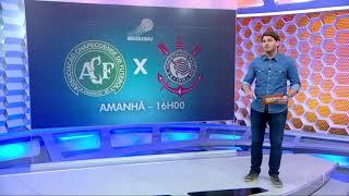 Globo Esporte Sp - Preparativos para Chapecoense x Corinthians - Coletiva de Sérgio Diaz