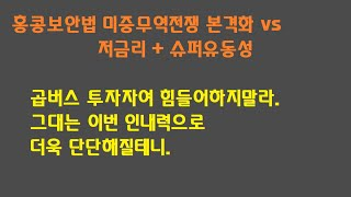 홍콩보안법 미중무역전쟁 본격화 vs 저금리+슈퍼유동성 …