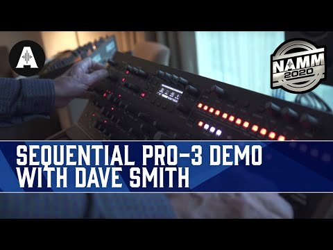 Dave Smith Demos The Monstrous Sequential Pro-3 - NAMM 2020