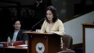 LOREN LEGARDA: Privilege Speech: Building Back a Better Mindanao Part 1