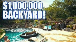 Gambar cover $1 MILLION dollar backyard with WATERFALL: Greg Wittstock, The Pond Guy