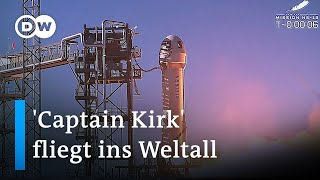 Blue Origin: Kurzausflug ins All für