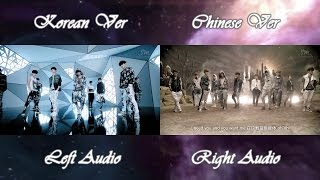EXO - HISTORY (Korean Chinese MV Comparison)