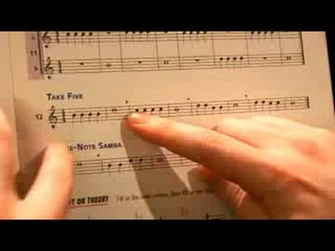 Beginning Piano Lessons : Reading Types of Music Notes