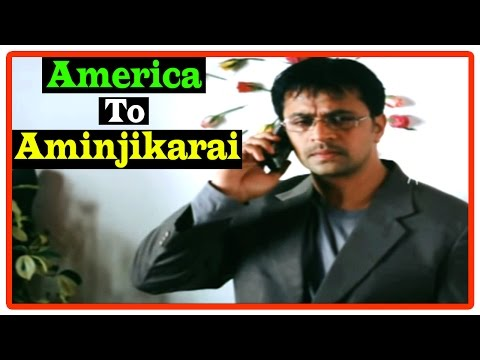America To Aminjikarai Tamil Movie | Scenes | Bhumika Is Diagnosed With Cancer | Jagapati Babu