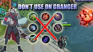 [OBSOLETE] GRANGER THE ONLY MARKSMAN WITHOUT BASIC ATTACK DAMAGE - ITEM TESTS AND BUILD thumbnail