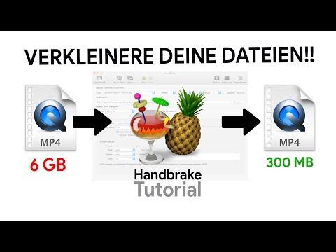 Das HandBrake Tutorial | Videodatei-Größe Drastisch Verkleinern (So Geht's!)