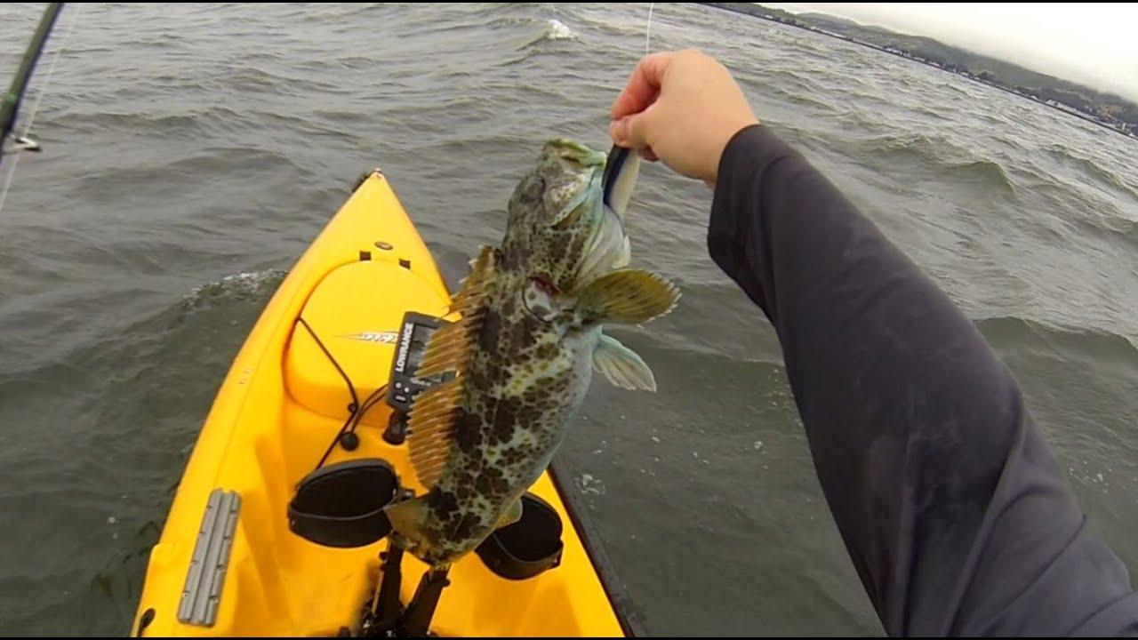 Half moon bay kayak fishing youtube for Half moon bay fishing report