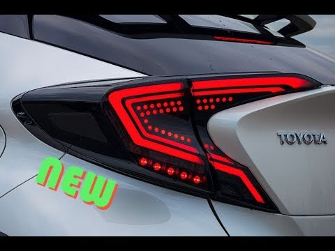 Toyota C-HR / DYNAMIC led TAIL light RETROFIT