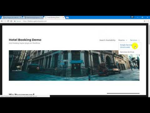 Hotel Booking Engine for WordPress