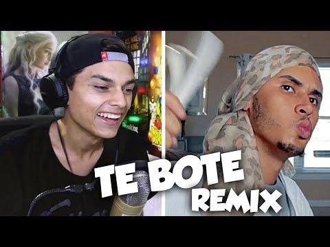 Te Bote Remix (Parodia) ft. Bad bunny, Casper, Nio Garcia, Darell, Ozuna, Nicky Jam | Reaccion