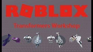 ROBLOX | Transformers Workshop (Showoff)
