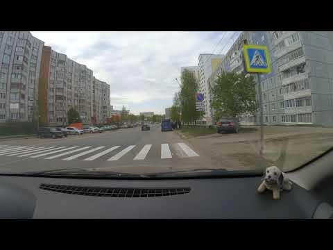Вождение автомобиля в Сыктывкаре. 14.05.19.