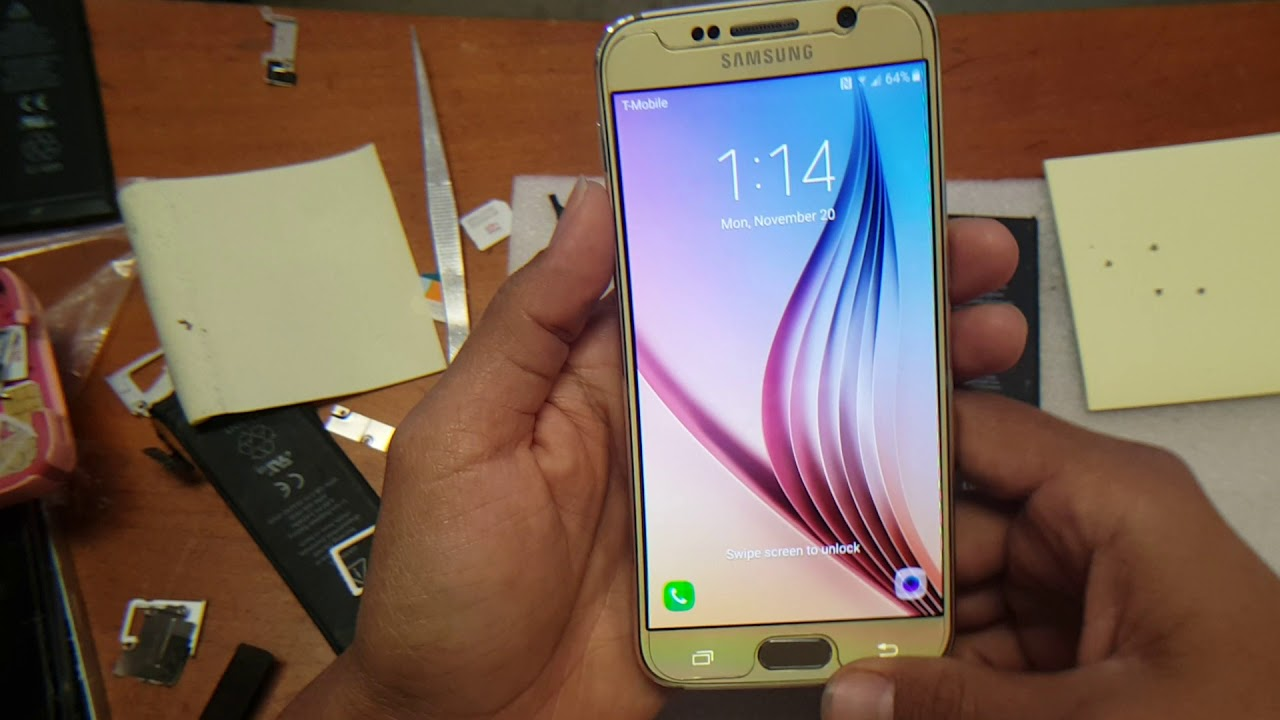 Galaxy s4, s5, s6, s7 dropped and unresponsive, screen frozen, quick fix,  done in 5 min !!!!