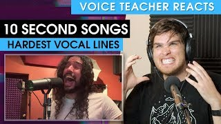 HARDEST VOCAL LINES EXPLAINED