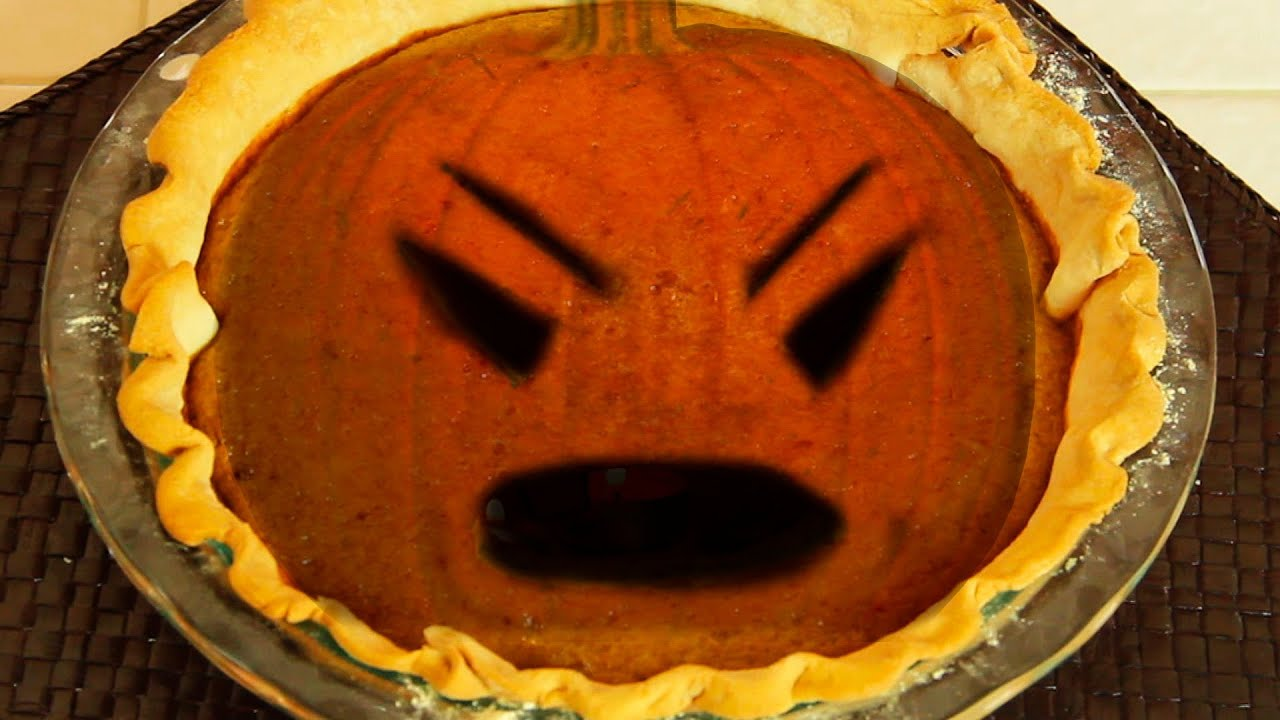 Pumpkin Pie From A Fresh Pumpkin Youtube