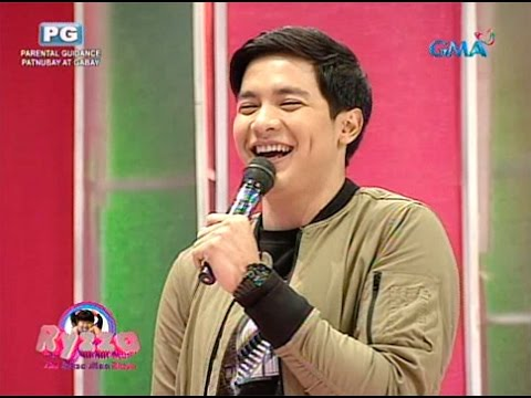 Alden auditions for Ryzza Mae