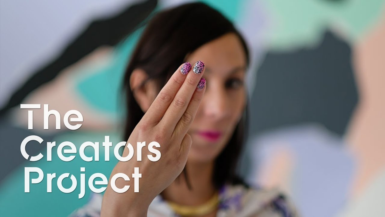 Thea Baumann on Augmented Reality Nail Art and Game Hacking | Visionaries, Episode 3