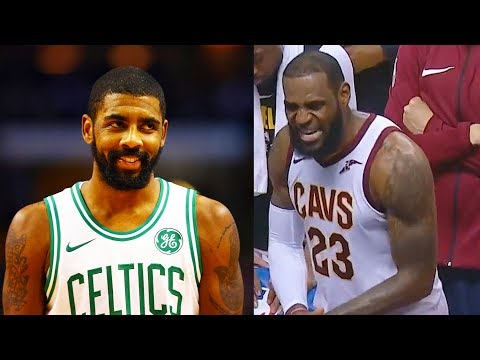 Kyrie Irving Likes Video of LeBron James Getting Angry at Cavaliers Teammates vs Raptors