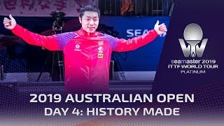 History Made and Champions Crowned on Day 4 Down Under | 2019 ITTF Australian Open