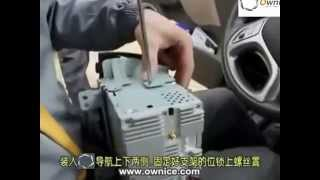 How to install the Car DVD Player GPS navigation for HYUNDAI IX35 2010 to 2014 Installation guide