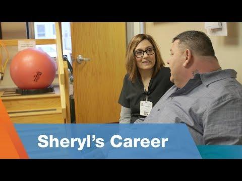 Sheryl's Career As A Rehab Tech