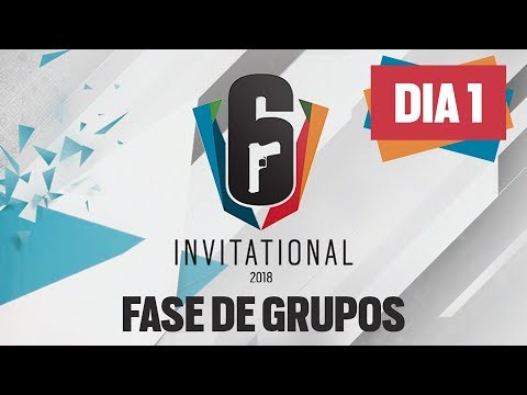 [DIA 1] Six Invitational 2018   Fase de Grupos   AO VIVO - Rainbow Six Siege