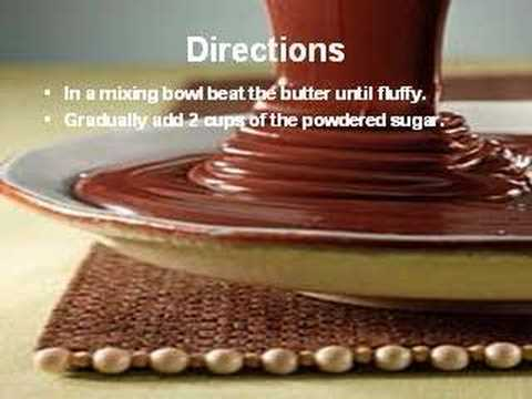 Chocolate Frosting - YouTube