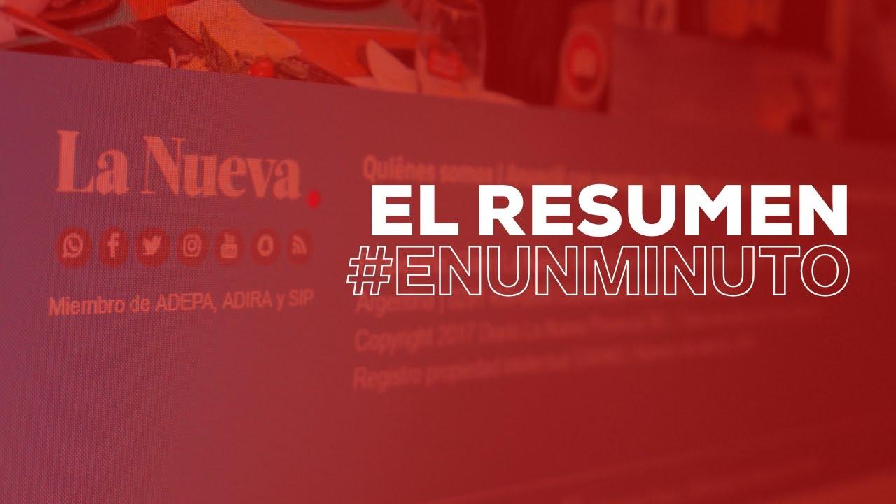 El resumen #EnUnMinuto - 8 de julio