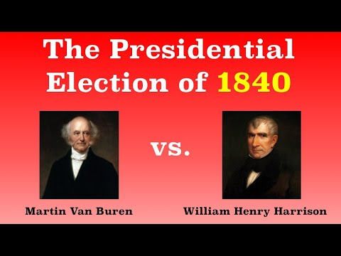 The American Presidential Election of 1840