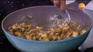 طريقة تحضير تورتيلا الدجاج بالباربيكيو | أميرة شنب