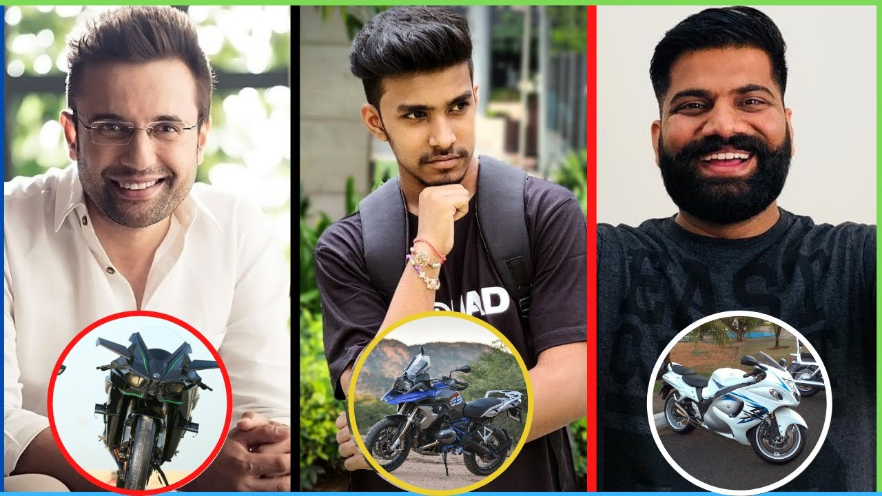 New List Of Top 10 Indian Youtubers Most Expensive Bikes
