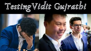 The Vidit Gujrathi Candidates Test | Preparing for the Champions Chess Tour