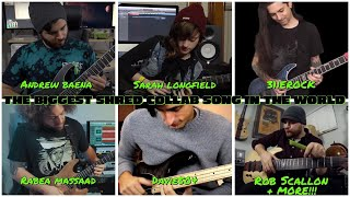 the biggest shred collab song in the world (2017) thumbnail