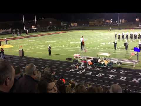 West De Pere High School Marching Band- September 29, 2017