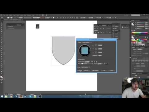 Bevel and Emboss in Illustrator