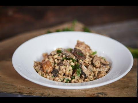 Studenckie danie: Pęczotto z kurczakiem i grzybami + gość: Bartek bez Przepisu Adamski