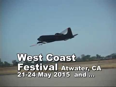 West Coast Festival 2015  Giant RC Aircraft Event