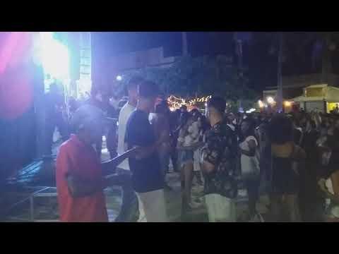 Lotada a praça de Piritiba virada de ano 2020