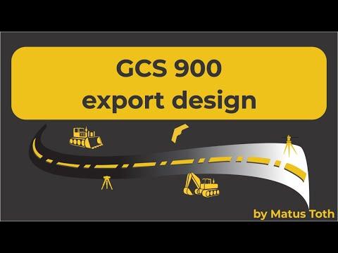 How To Create Machine / Grade control files (GCS900) using