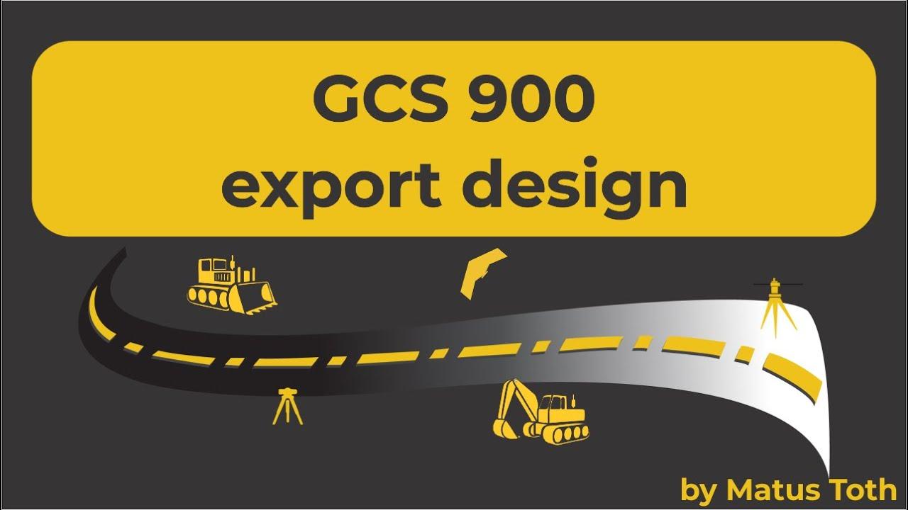 How To Create Machine / Grade control files (GCS900) using Trimble's  Business Center - HCE