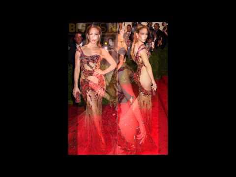 BEYONCE, JLO, KIM KARDASHIAN, RIHANNA See-Thru Gowns - Met Gala 2015 Red Carpet [PICS]