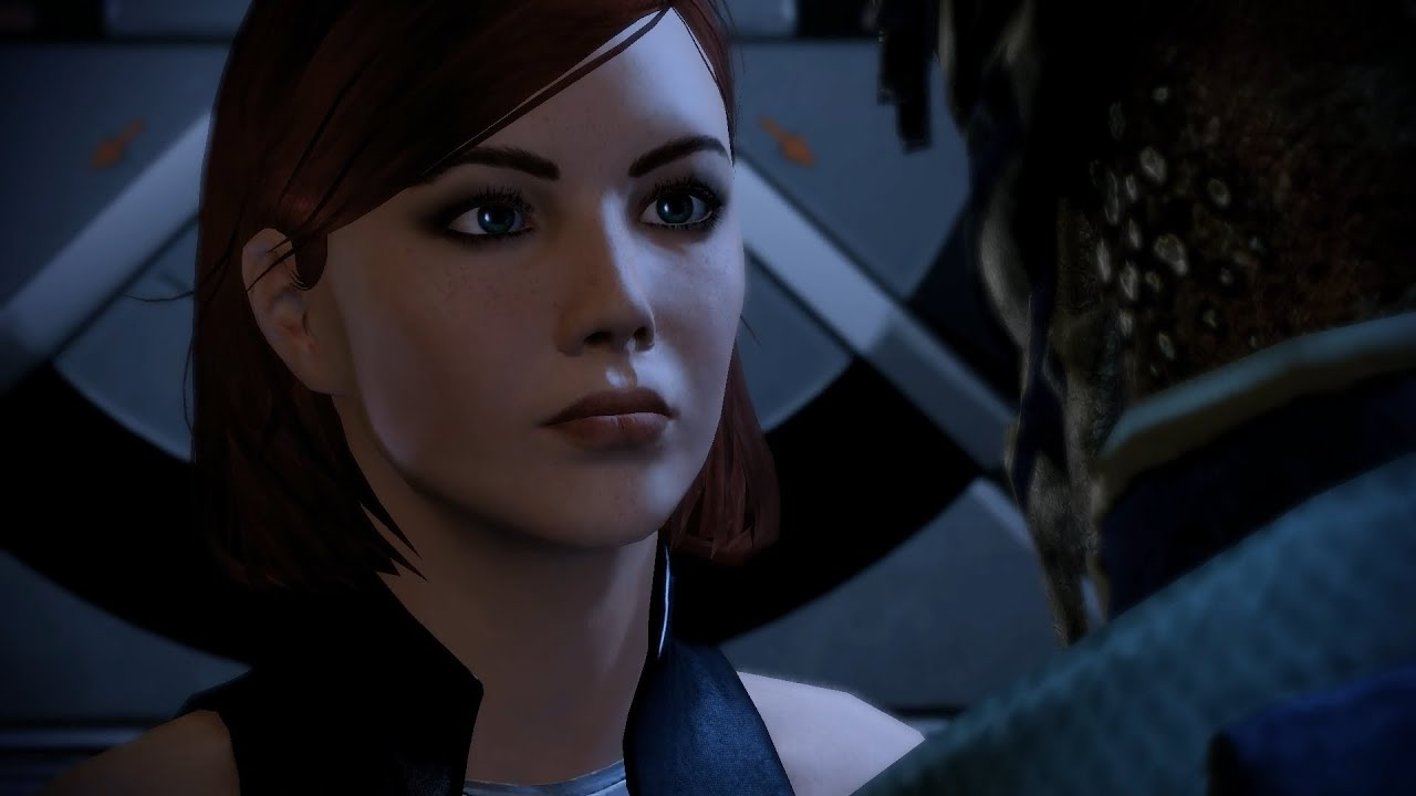 mass effect 2 femshep 185 act 3 calm before the. Black Bedroom Furniture Sets. Home Design Ideas