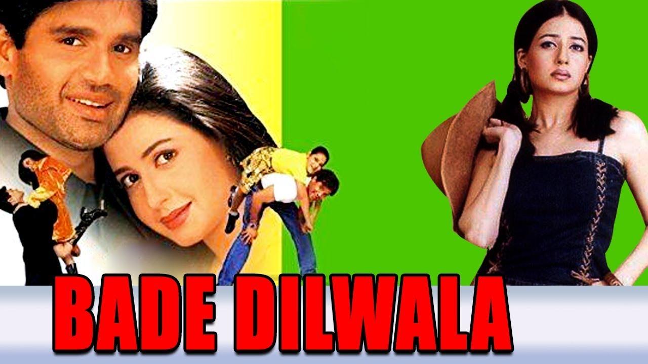Download Bade Dilwala (1999) Full Hindi Movie   Sunil Shetty, Priya Gill, Archana Puran Singh, Paresh Rawal