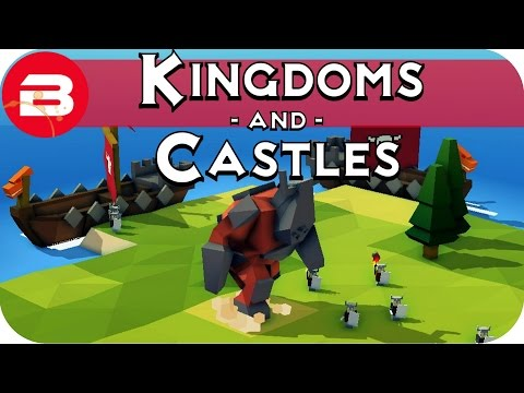 Kingdoms and Castles Gameplay: VIKINGS & OGRES! #2 - Lets Pl