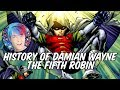 History of Damian Wayne - The Fifth Robin