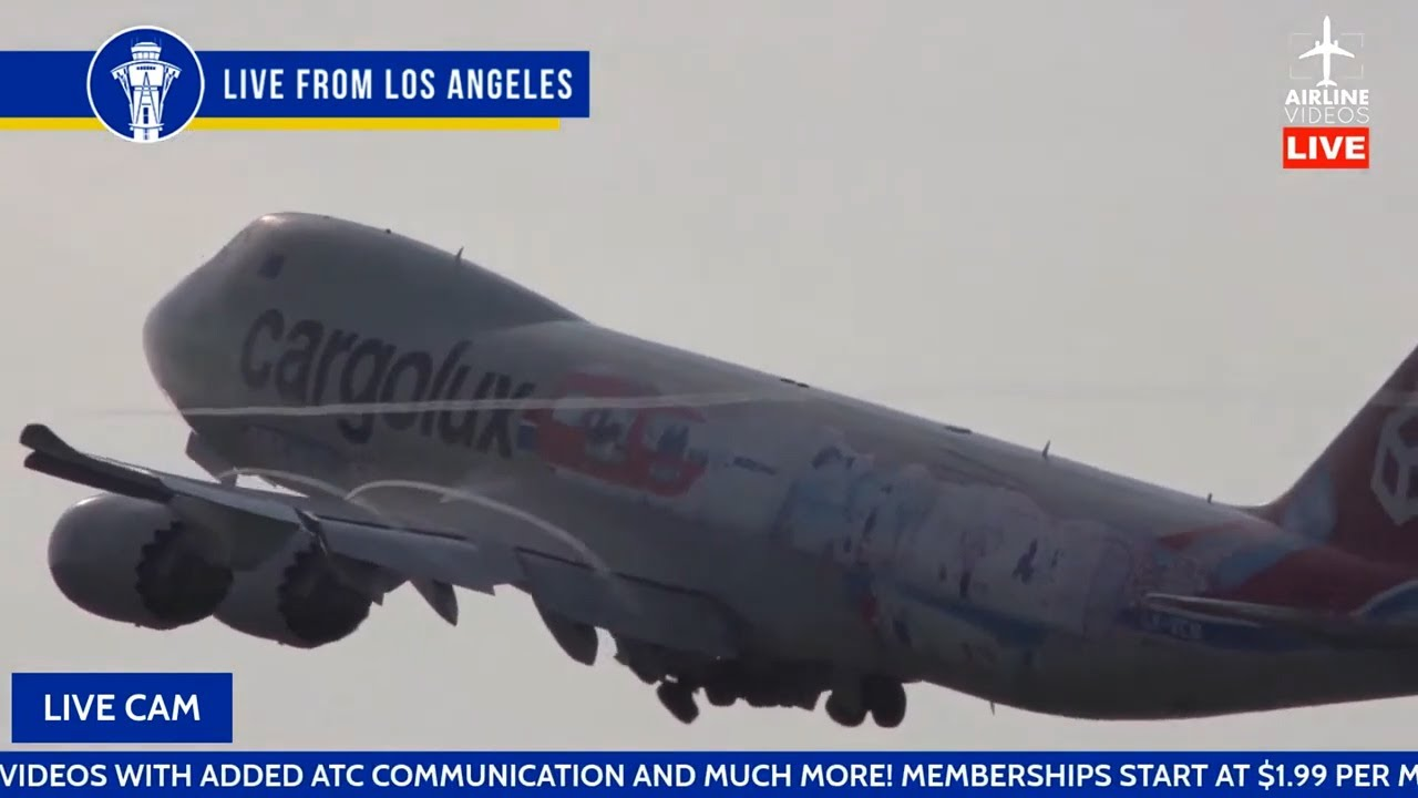 🔴LIVE Plane Spotting at Los Angeles International Airport (LAX) on July 25th, 2021 + ATC