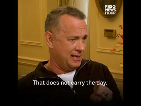 What Tom Hanks has to say about the Weinstein scandal