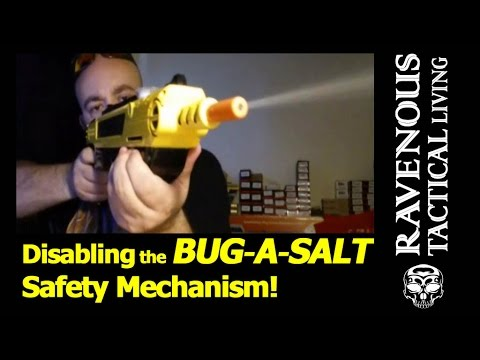 Modding the Bug-A-Salt - Disabling the Safety Mechanism - Faster Shooting with the Bug Gun Review